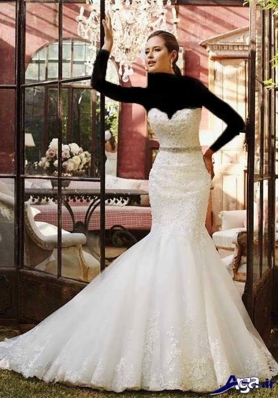 انواع مدل های لباس عروس زیبا