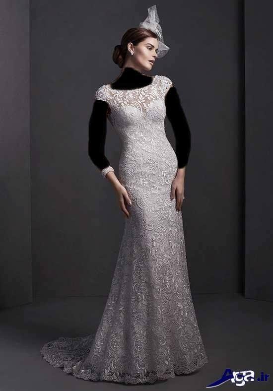 مدل لباس عروس 2017 با طرح های جذاب و متفاوت