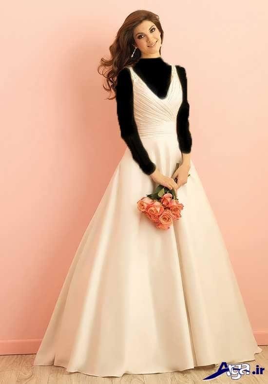 انواع مدل های جدید لباس عروس 2017