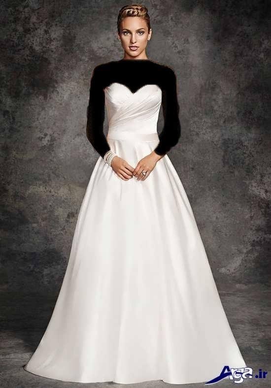 مدل لباس عروس 2017 زیبا و شیک