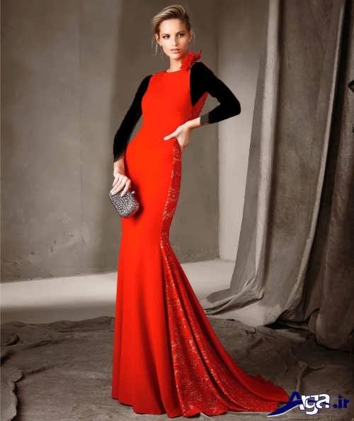 مدل لباس مجلسی 2017 بلند