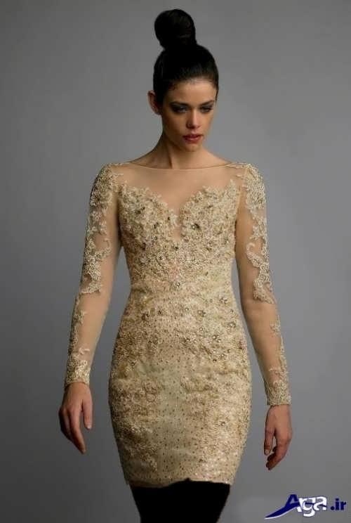 مدل لباس مجلسی کوتاه 2017