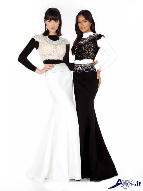 مدل لباس مجلسی 2017 با طرح های شیک و متفاوت