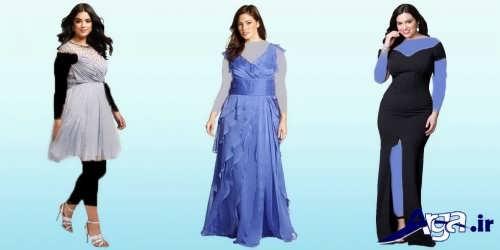 لباس مجلسی بلند و کوتاه زنانه