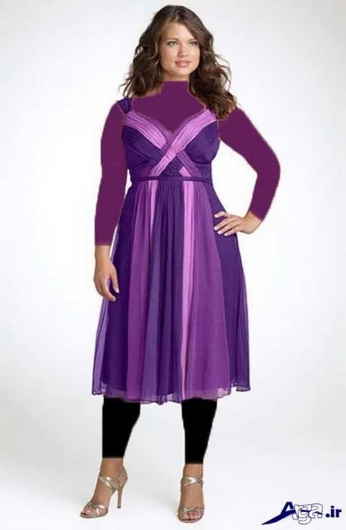 مدل لباس مجلسی برای افراد چاق با طرح های شیک و متنوع مد سال