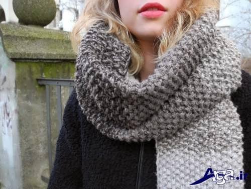 مدل های زیبا شال گردن دخترانه