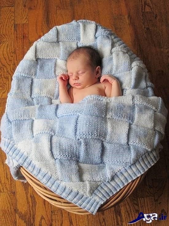 انواع مدل های پتو نوزاد با طرح های زیبا و شیک