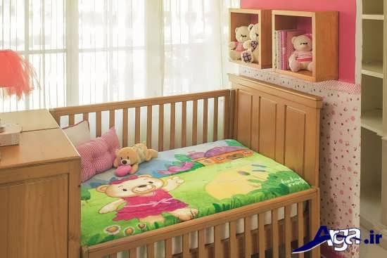 مدل پتو نوزاد با طرح عروسکی