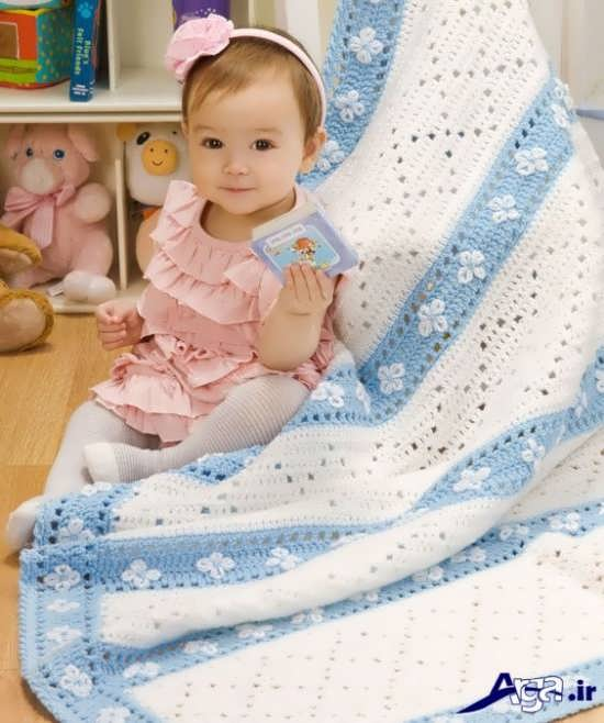 انواع مدل های پتو نوزاد با طرح های زیبا و متنوع