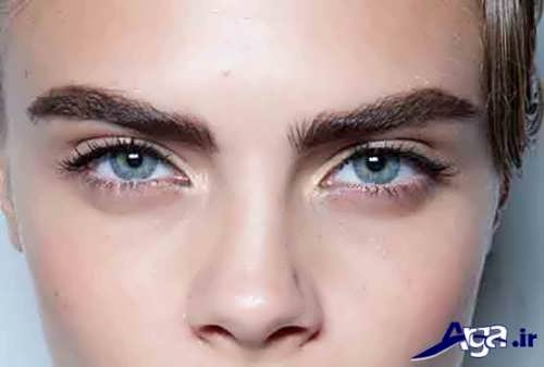 مدل ابرو پهن و دخترانه 2017