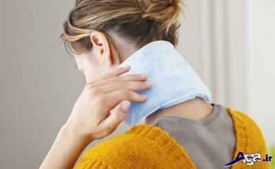 کاهش درد گردن
