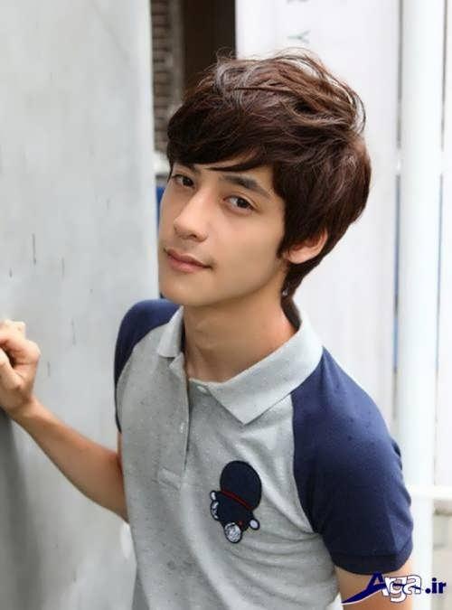 مدل موی پسرانه نوجوان زیبا