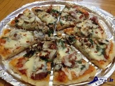 طرز تهیه پیتزا بدون فر با بهترین و آسان ترین روش