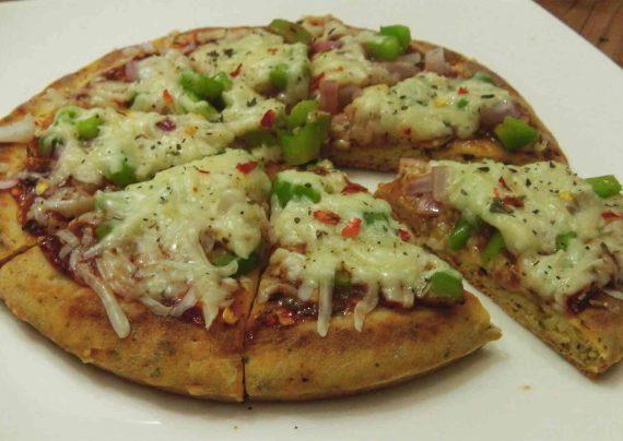طرز تهیه پیتزا بدون فر در منزل