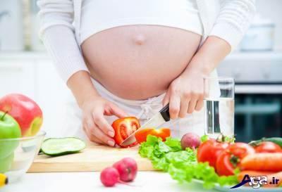 تغذیه دوران بارداری برای زیبایی نوزاد
