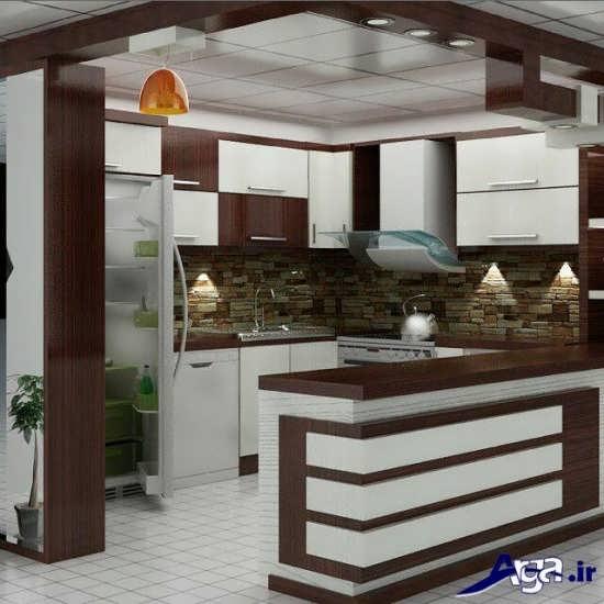 مدل آشپزخانه اپن ایرانی