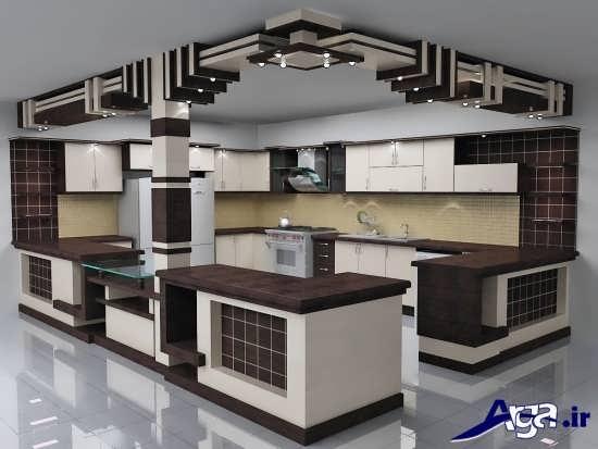 مدل های زیبا و کاربردی اپن آشپزخانه