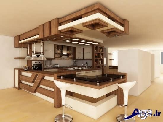 مدل های زیبا و متفاوت آشپزخانه اپن