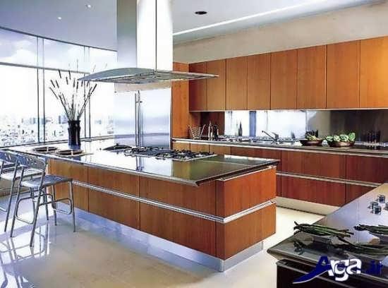 مدل های زیبا و شیک آشپزخانه های اپن