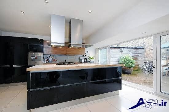 مدل اپن آشپزخانه با دیزاین های متفاوت و لوکس