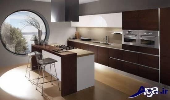 طراحی دکوراسیون داخلی آشپزخانه های اپن