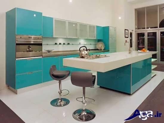 طراحی دکوراسیون داخلی برای آشپزخانه های اپن