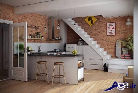 مدل اپن برای آشپزخانه های کوچک