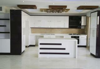 مدل آشپزخانه اپن زیبا و متفاوت