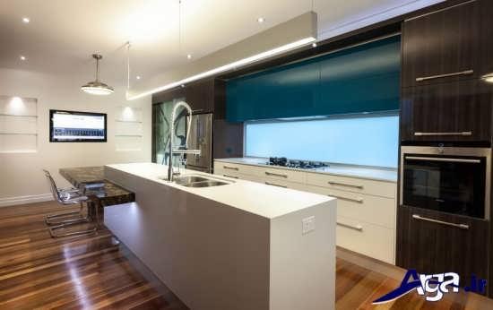 مدل اپن آشپزخانه زیبا و شیک