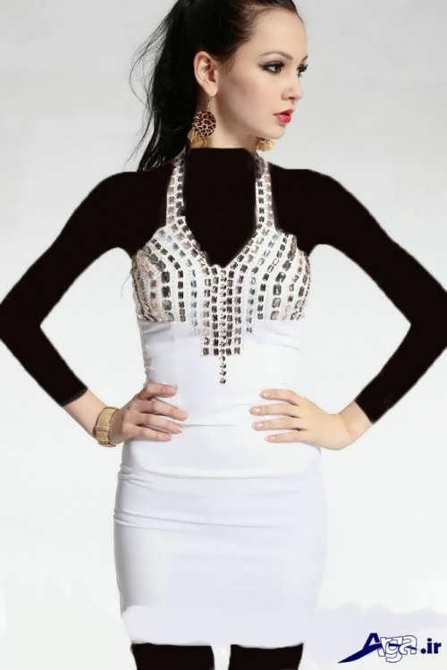مدل لباس کوتاه دخترانه با جدیدترین طرح های مد سال
