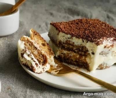 نحوه تهیه کیک تیرامیسو ساده