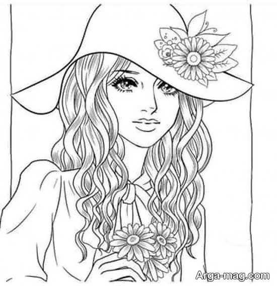 ویترای با طرحهای قشنگ دخترانه