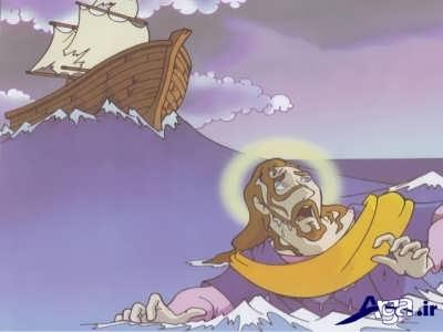 انداختن حضرت یونس در دریا