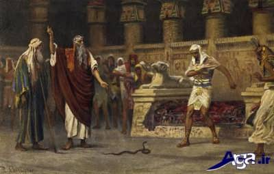 مار شدن عصای حضرت موسی