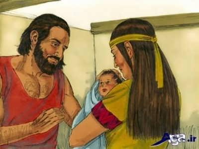 قصه کودکی موسی