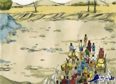 هجرت حضرت موسی از مدین به مصر