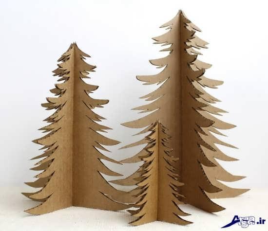 ساخت درخت کارتنی