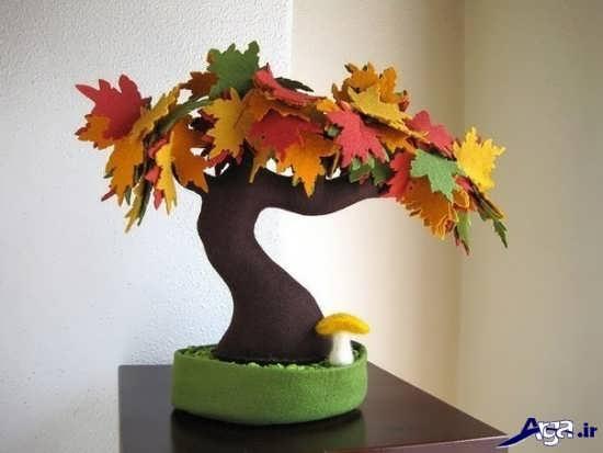 کاردستی جدید درخت