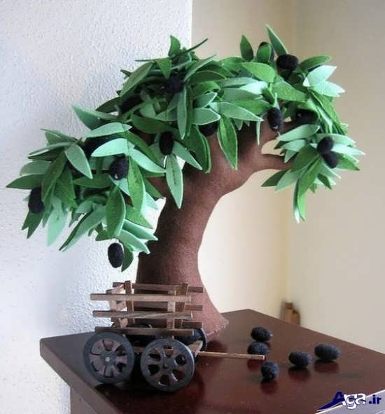 ساخت درخت با فوم