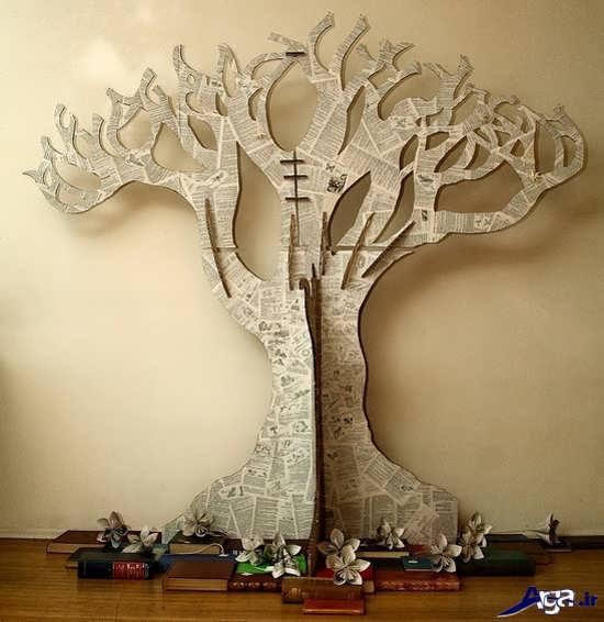 کاردستی خلاقانه درخت