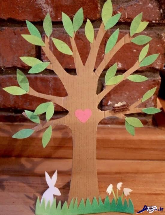 کاردستی های درخت با ایده های جدید