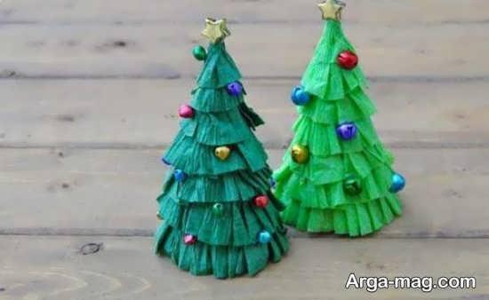 کاردستی درخت زیبا و ساده