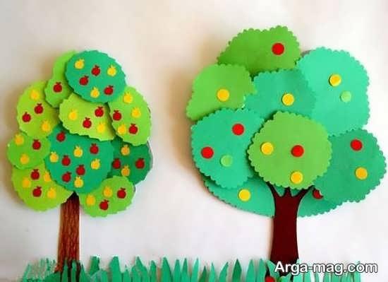 خلاقیت درخت برای کودک