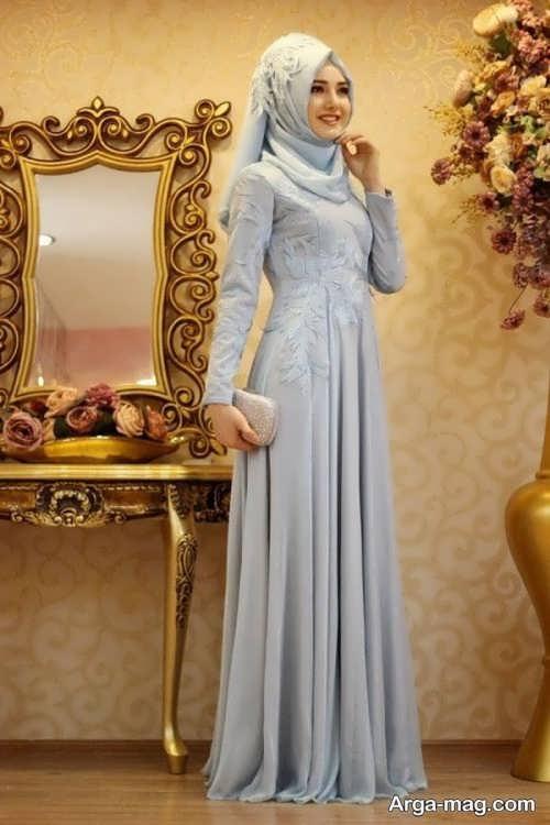لباس ترکیه ای دخترانه بلند