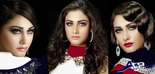 مدل های آرایش ملایم ترکی زنانه