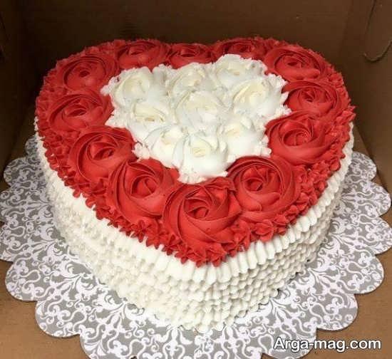 تصاویری از تزیینات کیک سالگرد ازدواج