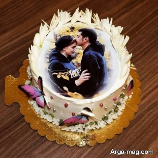 تزیینات خاص کیک سالگرد ازدواج