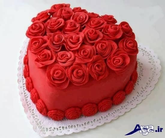 کیک مخملی برای سالگرد ازدواج