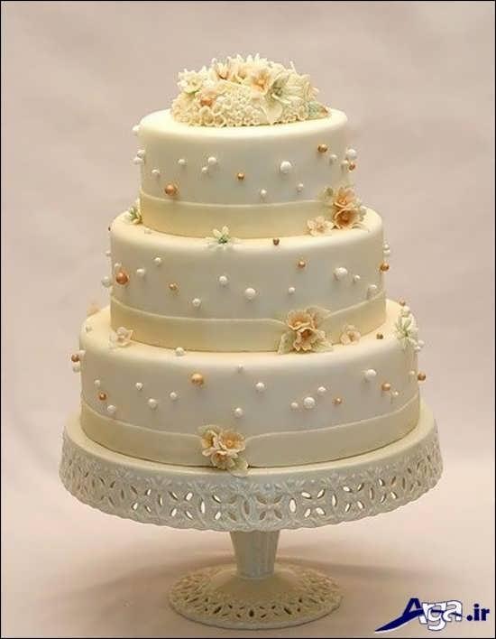 تزیین زیبا و شیک کیک سالگرد ازواج