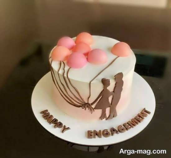 تزییناتی از کیک سالگرد ازدواج